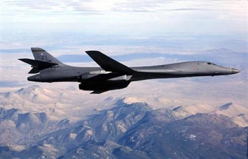 Chiến cơ Mỹ tập trận tấn công trên bán đảo Triều Tiên
