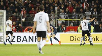 Video bàn thắng Đức 1-0 Anh