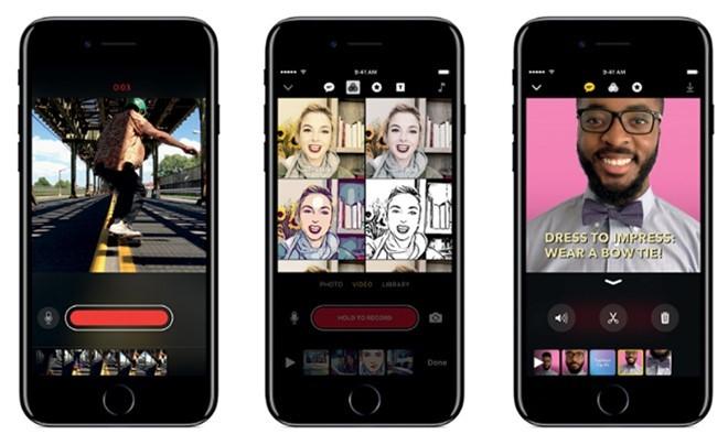 Clips - Ứng dụng tạo video độc đáovừa được Apple ra mắt
