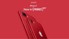 Cổ phiếu Apple tăng cao kỷ lục sau khi ra mắt iPhone 7/7 Plus màu đỏ