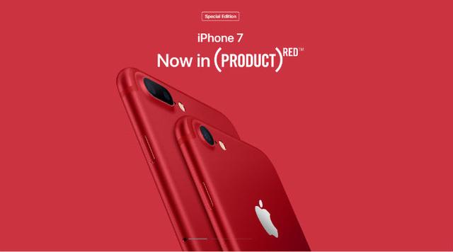 iPhone 7/7 Plus đỏ sẽ cùng phát hành ở Mỹ, TQ ngày 24/3