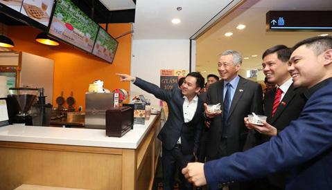 Thủ tướng Singapore thăm VN