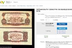1.000 tờ tiền cũ 1 Đồng Việt Nam giá 45 triệu trên eBay