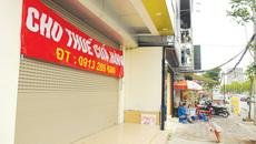Giá thuê cửa hàng, nhà mặt phố Hà Nội giảm mạnh