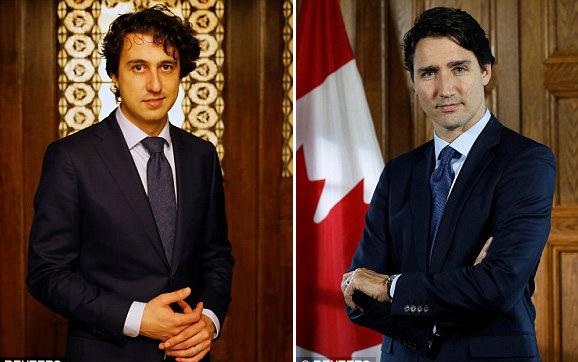 'Bản sao' hoàn hảo của Thủ tướng 'soái ca' Canada