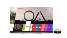 TV LG- 3 năm liền được khuyên dùng bởi Netflix