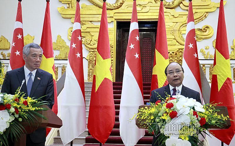 Thủ tướng Singapore: Tự do đi lại ở Biển Đông phải được đảm bảo