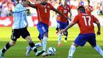 Trực tiếp Argentina vs Chile: Trông cả vào Messi