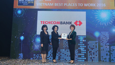 Techcombank- Top 2 nơi làm việc tốt nhất VN ngành ngân hàng