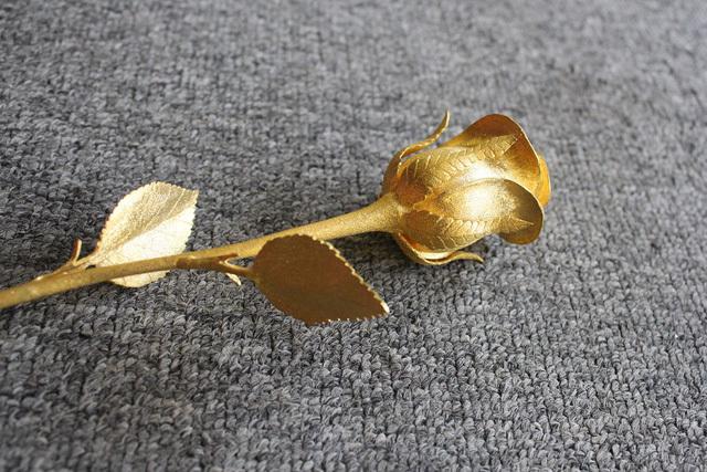 nhà dát vàng, xe dát vàng, hoa hồng dát vàng, dát vàng, mạ vàng, thú chơi
