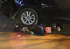 Hà Nội: Va chạm với ô tô, vợ chồng trẻ bị đánh chảy máu mặt - ảnh 5