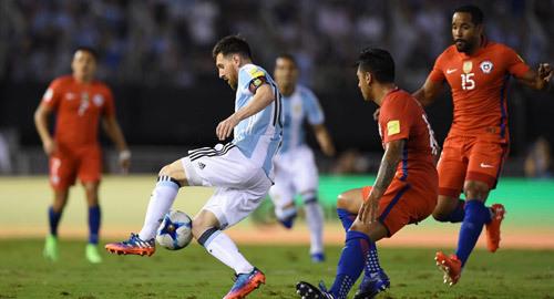Video bàn thắng Argentina 1-0 Chile