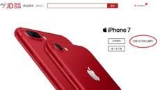 Người Trung Quốc lên cơn sốt iPhone 7 màu đỏ