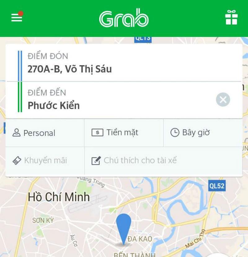 tài xế Grabbike bị cướp, tài xế Grabbike bị chích điện cướp xe, tài xế Grabbike bị cướp ở huyện Nhà Bè