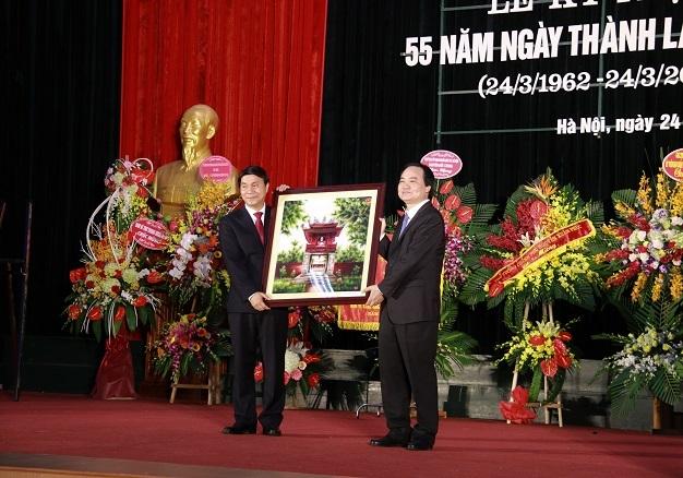 Bộ trưởng Phùng Xuân Nhạ, Trường ĐH Giao thông vận tải