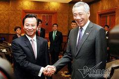 Bí thư Đà Nẵng, Chủ tịch Hà Nội hỏi kinh nghiệm Thủ tướng Singapore