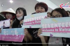 Fan Việt gào thét khi thấy Seventeen, Se7en, Apink tại sân bay