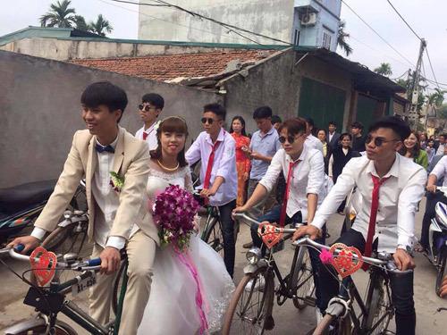 Những màn rước dâu 'có một không hai' khiến dân mạng chú ý