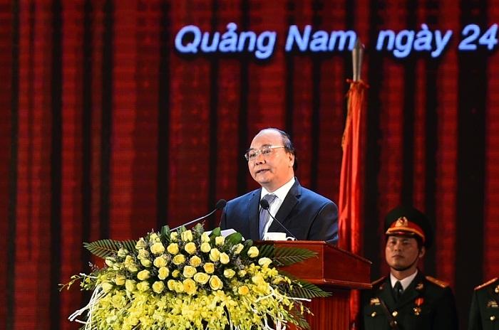 Thủ tướng mong muốn Quảng Nam thành tỉnh giàu có toàn diện