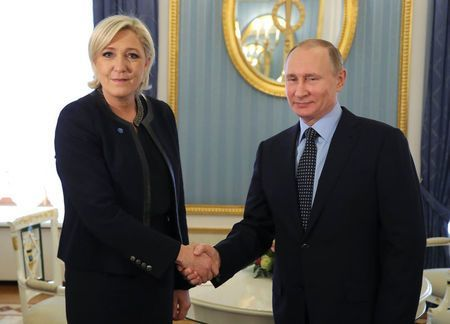 Ông Putin 'chấm' ứng viên Tổng thống Pháp