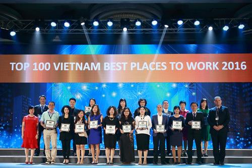 Vinamilk 3 năm liền Top 2 nơi làm việc tốt nhất VN