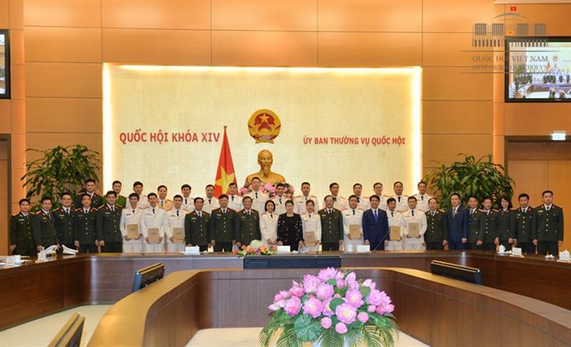 Chủ tịch QH gặp mặt đoàn viên, thanh niên công an tiêu biểu