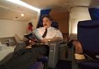 Hé lộ chỗ ngủ của phi công trên những chặng bay dài