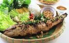 Ngon ngọt canh rau sắng cá tràu tiến vua ở Ninh Bình