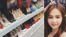 Cận cảnh 'cửa hàng giày' vạn người mơ của Ngọc Trinh