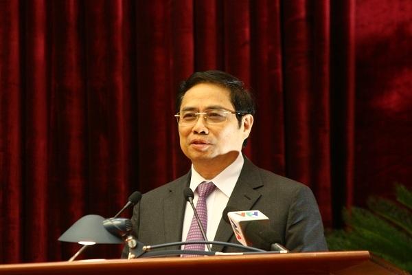 Trưởng ban Tổ chức Trung ương, Phạm Minh Chính, Đảng ủy Khối các cơ quan Trung ương, công tác cán bộ