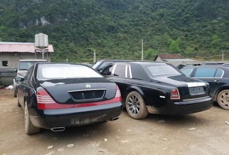 Bãi siêu xe trăm tỷ giữa rừng núi Cao Bằng