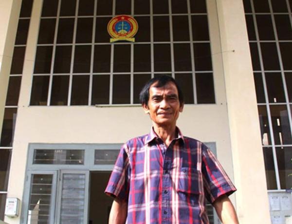 Huỳnh Văn Nén, người tù thế kỷ, ông Huỳnh Văn Nén được bồi thường 10 tỷ, oan sai, bồi thường oan sai, TAND Bình Thuận bồi thường ông Nén, Biện Văn Hoan