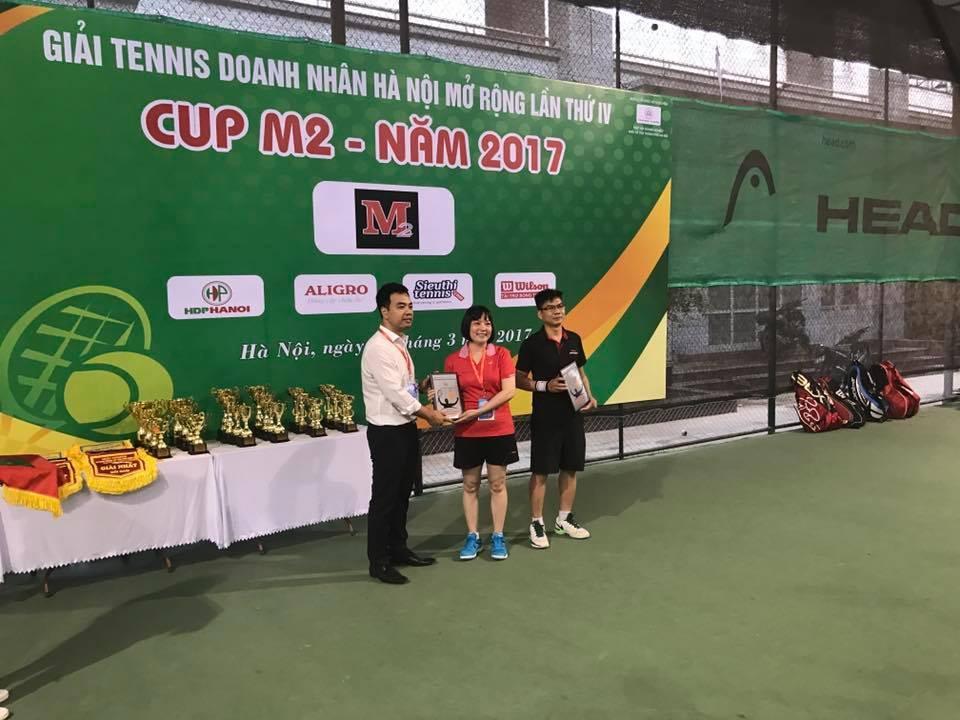 Giải Tennis Doanh nhân Hà Nội mở rộng lần thứ IV - Cup M2 2017