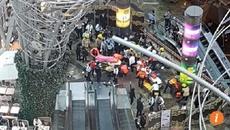 Thang cuốn dài nhất Hồng Kông bất ngờ đổi hướng, nhiều người bị thương