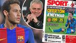"""MU phá kỷ lục vì Neymar, Diego Costa """"ngã bệnh"""""""