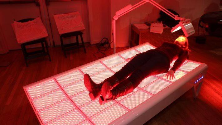 giường trị liệu, đèn LED, siêu giàu