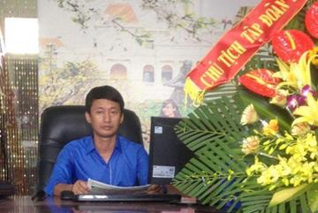 Thu thẻ nhà báo Trưởng đại diện báo Kinh doanh-Pháp luật tại Hải Phòng