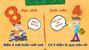 Những khác biệt thú vị giữa học sinh và sinh viên