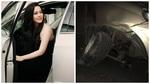 Nhật Kim Anh gặp tai nạn, ô tô vỡ nát