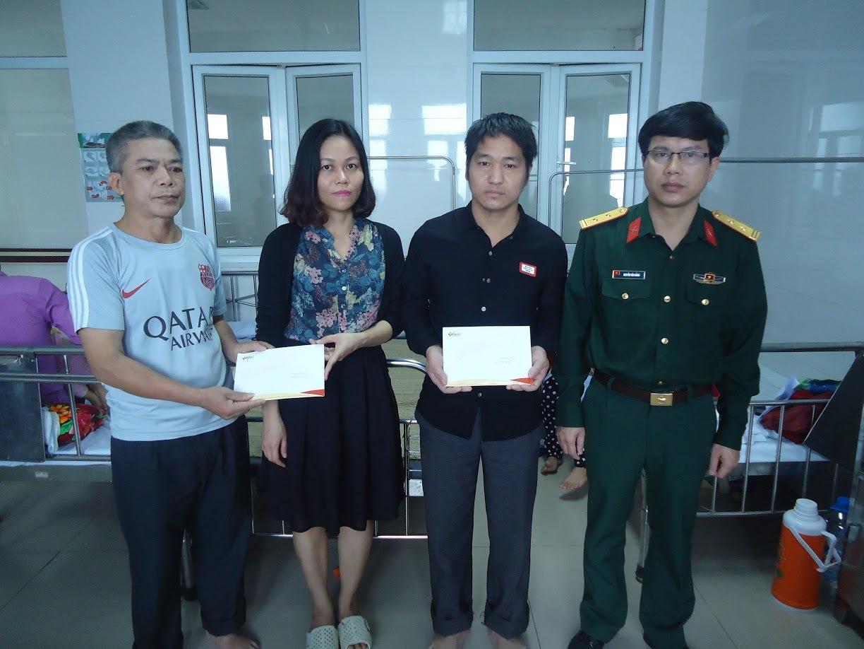 Tấm lòng bạn đọc VietNamNet đến với Viện bỏng Quốc gia