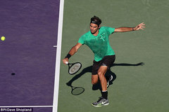 Đả bại Del Potro, Federer vào vòng 4 Miami Open