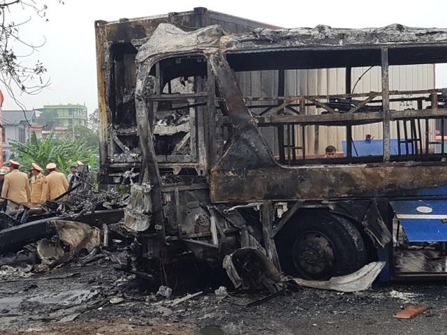 tai nạn giao thông, cháy xe khách