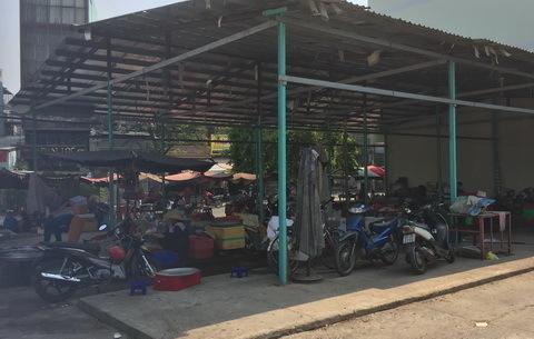 chợ, tiểu thương, từ thiện