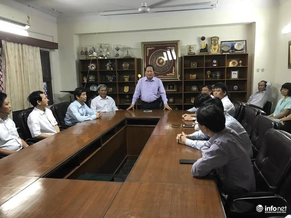 Bộ trưởng Bộ TT&TT thăm trụ sở Đảng Nhân Dân Ấn Độ (BJP) cầm quyền