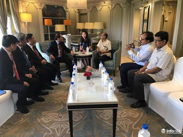 Bộ trưởng Trương Minh Tuấn gặp gỡ lãnh đạo các tổ chức Hòa bình, Đoàn kết Ấn Độ