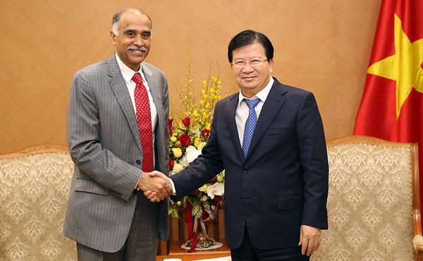 Ấn Độ sẽ giúp Việt Nam phát triển năng lượng tái tạo