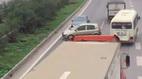 Xác minh hàng loạt ô tô đi ngược chiều trên cao tốc