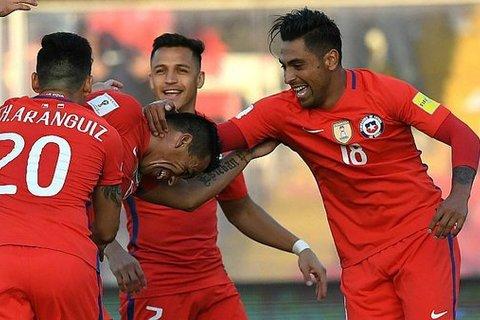 Video bàn thắng Chile 3-1 Venezuela