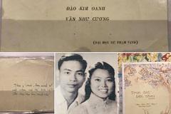 Thiệp cưới năm 1961 của thầy Văn Như Cương và vợ 'gây sốt'