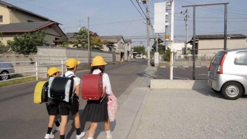 trẻ em, Nhật Bản, cha mẹ, tàu điện, đi bộ, xe bus, dạy con